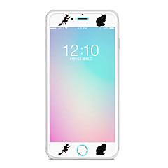 Недорогие Защитные пленки для iPhone 6s / 6-Защитная плёнка для экрана Apple для iPhone 6s iPhone 6 Закаленное стекло 1 ед. Защитная пленка для экрана Узор Взрывозащищенный Уровень