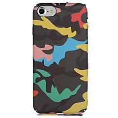 Назначение iPhone X iPhone 8 Чехлы панели С узором Задняя крышка Кейс для Камуфляж Мягкий Термопластик для Apple iPhone X iPhone 8 Plus