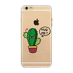 Недорогие Кейсы для iPhone 6-Кейс для Назначение Apple iPhone X iPhone 8 Прозрачный С узором Кейс на заднюю панель дерево Мягкий ТПУ для iPhone X iPhone 8 Pluss