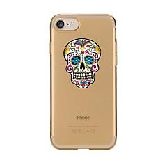 чехол для iphone 7 6 черепа tpu мягкая ультратонкая задняя крышка чехол iphone 7 плюс 6 6s плюс se 5s 5 5c 4s 4