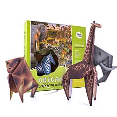 Kit de Bricolaje Animales Juguetes Pájaro Peces Lagarto León Cebra Búho Shark Hipopótamo Animales Animal Tema Playa Animales Diseñado