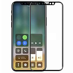 Недорогие Защитные пленки для iPhone X-asling экран протектор яблоко для iphone x закаленное стекло 1 шт полный защитный экран для экрана 3D изогнутый край царапина доказательство взрывонепроницаемый 9h