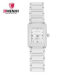 voordelige Horloges voor stellen-CHENXI® Dames Voor Stel Polshorloge Dress horloge Modieus horloge Japans Kwarts Vrijetijdshorloge Legering Band Amulet Luxe Informeel Cool
