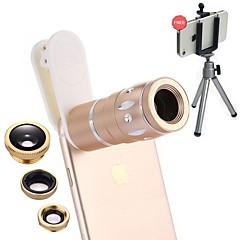 optrix exolens 스마트 폰 카메라 렌즈 iphone6 / 6s / 6plus / 6splus ipad 용 165 와이드 앵글 렌즈 3 배 긴 초점 렌즈