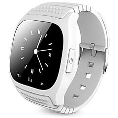 お買い得  メンズ腕時計-ブルートゥーススマートな腕時計新しいm26防水smartwatch歩数計反失われた音楽プレーヤーios android phone pk a1 dz09