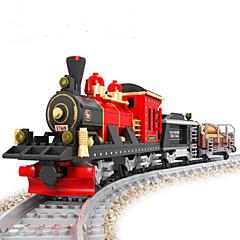 Bausteine Züge Spielzeuge Schleppe Stillleben Fahrzeuge Mode Stücke