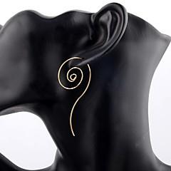 preiswerte Ohrringe-Damen Ohrstecker / Kreolen - versilbert Personalisiert, Erklärung Gold / Silber Für Bühne / Klub