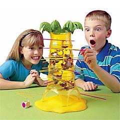 Bretsspiele Taumelnde Äffchen-Spiel Balance und Geschicklichkeit Spielzeuge Familieninteraktion Affe Dump-Affe Fallende Affen Kunststoff