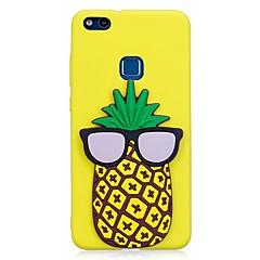 Χαμηλού Κόστους Θήκες / Καλύμματα για Huawei-tok Για Huawei P10 Lite P10 Με σχέδια Φτιάξτο Μόνος Σου Πίσω Κάλυμμα Φρούτα Κινούμενα σχέδια 3D Μαλακή TPU για P10 Lite P10 P8 Lite