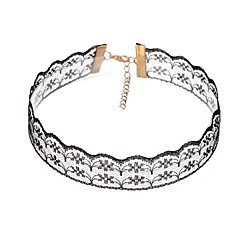 Women's Choker Necklaces Flower Lace Jewelry For Casual Club