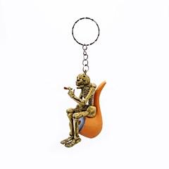 preiswerte Schlüsselanhänger-Schlüsselanhänger Gelb Gummi, Aleación Retro, Rockig Für