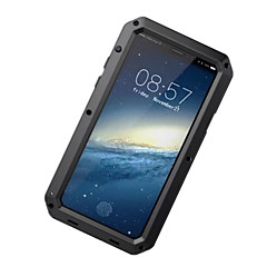 tanie Etui do iPhone 5S / SE-Kılıf Na Apple iPhone X iPhone 8 iPhone 8 Plus Woda / Dirt / Shock Proof Pełne etui Zbroja Twarde Aluminium na iPhone X iPhone 8 Plus