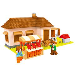Bausteine Spielzeuge Haus Garten Märchen Häuser Jungen 293 Stücke