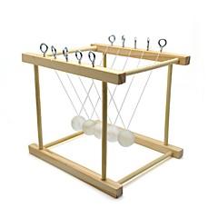 billige børn Puslespil-Newton balancebold Videnskabs- og ingeniørlegetøj Pædagogisk legetøj Nyhed Rektangulær Skole Håndlavet Børn Klassisk Træ