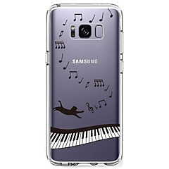 Etui Til Samsung Galaxy S8 Plus S8 Ultratyndt Transparent Mønster Bagcover Punk Blødt TPU for S8 S8 Plus S7 edge S7 S6 edge plus S6 edge