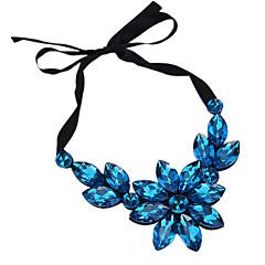 preiswerte Halsketten-Damen Anhängerketten - Strass Tropfen Personalisiert, Modisch Regenbogen, Hellblau, Hellbraun Modische Halsketten Schmuck Für Alltag, Ausgehen