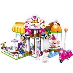 Bausteine Spielzeuge Haus Cafe Urban Heimwerken Klassisch Neues Design Erwachsene Mädchen 277 Stücke
