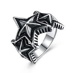 Жен. Кольцо на кончик пальца По заказу покупателя Хип-хоп Нержавеющая сталь Титановая сталь В форме звезды Геометрической формы Бижутерия