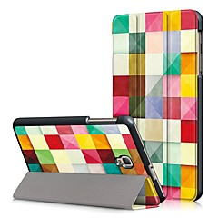 cheap Tablet Cases-Case For Samsung Galaxy Full Body Cases Tablet Cases Geometric Pattern Hard PU Leather for Tab A 8.0 (2017)