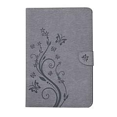 præget mønster kortholder med stativ magnetisk pu punget læder taske taske med mønster til Samsung Galaxy Tab e t560 9,6 tommer tablet pc