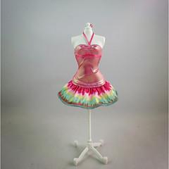Voor Barbiepop fluorescerend oranje Voor voor meisjes Speelgoedpop