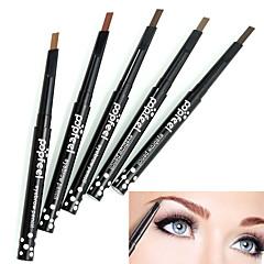 1pcs popfeel περιστροφικό σχέδιο διαρκείας αδιάβροχο φρύδι μολύβι ματιών φόδρα γραμμής eyeliner στυλό κούρεμα σκόνη