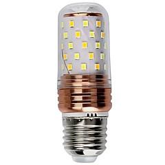 1 pièce 6W E27 Ampoules Bougies LED 60 diodes électroluminescentes SMD 2835 Décorative Blanc Chaud Blanc Couleur double source lumineuse *