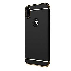 Назначение iPhone X iPhone 8 Чехлы панели Покрытие Задняя крышка Кейс для Сплошной цвет Твердый PC для Apple iPhone X iPhone 8 Plus
