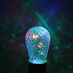 お買い得  LED 電球-YWXLIGHT® 1個 1W 100-200lm E27 LEDボール型電球 12 LEDビーズ 温白色 グリーン ブルー レッド 85-265V