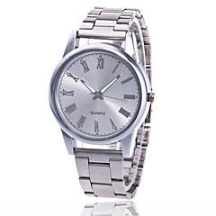 preiswerte Damenuhren-Herrn / Damen Armbanduhr Chinesisch Armbanduhren für den Alltag Metall Band Charme / Modisch Silber / Gold / Rotgold