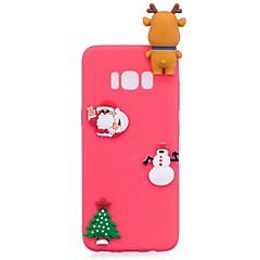 Case Kompatibilitás Samsung Galaxy S8 Plus S8 Minta DIY Hátlap Karácsony Puha TPU mert S8 S8 Plus S7 edge S7 S6 edge S6