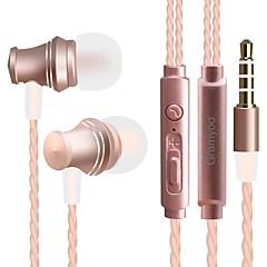 JTX X13 In het oor Bekabeld Hoofdtelefoons Dynamisch Mobiele telefoon koptelefoon Geluidsisolerende met microfoon koptelefoon