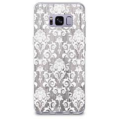 voordelige Galaxy S6 Edge Hoesjes / covers-hoesje Voor Samsung Galaxy Patroon Achterkant Houtnerf Lace Printing Zacht TPU voor S8 Plus S8 S7 edge S7 S6 edge plus S6 edge S6 S6