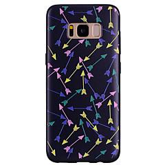 olcso Galaxy S6 Edge tokok-Case Kompatibilitás Samsung Galaxy Minta Fekete tok Más Puha Szilikon mert S8 Plus S8 S7 edge S7 S6 edge S6