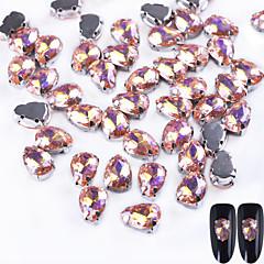 10 Nail Art Διακόσμηση rhinestone Μαργαριτάρια μακιγιάζ Καλλυντικά Σχεδιασμός νυχιών Τέχνης