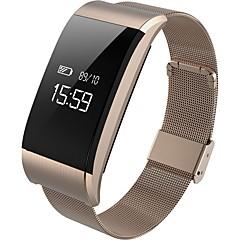voordelige Smartwatches-Smart Armband Aanraakscherm Hartslagmeter Waterbestendig Verbrande calorieën Stappentellers Logboek Oefeningen Afstandsmeting