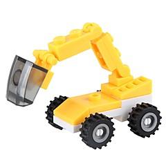 お買い得  積み木&ブロック-ブロックおもちゃ 油圧ショベル おもちゃ 掘削機械 車 軍隊 Non Toxic クラシック 新デザイン 成人 小品