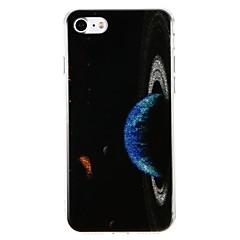 Кейс для Назначение Apple Защита от удара IMD Задняя крышка Цвет неба Сияние и блеск Твердый PC для iPhone 7 Plus iPhone 7 iPhone 6s Plus