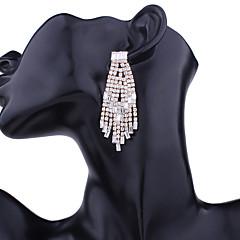 Mujer Pendientes colgantes Cristal Moda De Gran Tamaño Legierung Gota Joyas Para Fiesta Navidad