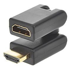 halpa HDMI-cwxuan v 1.4 uros-naaras 360 asteen kulmainen pyörivä jatkosovitin