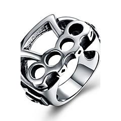 Жен. Кольцо на кончик пальца По заказу покупателя Хип-хоп Нержавеющая сталь Титановая сталь Геометрической формы Бижутерия Назначение