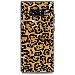 billiga Galaxy Note Edge Skal / fodral-fodral Till Samsung Galaxy Mönster Skal Leopardtryck Mjukt TPU för Note 8 Note 5 Edge Note 5 Note 4 Note 3 Lite Note 3 Note 2 Note Edge
