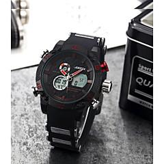 preiswerte Digitaluhren-Herrn Modeuhr / Armbanduhr Chinesisch Schlussverkauf Edelstahl Band Charme Schwarz