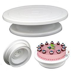 お買い得  ベイキング用品&ガジェット-ケーキ型 円形 キャンディのための アイスクリーム ケーキのための パン用 Cupcake ケーキ パン プラスチック PP(ポリプロピレン) DIY サンクスギビング バレンタイン・デー 新年 誕生日 ウェディング クリスマス クリエイティブキッチンガジェット