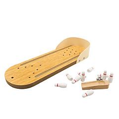Bretsspiele Spielzeuge Desktop-Bowling Spielzeuge Mini Stress und Angst Relief Büro Schreibtisch Spielzeug Lindert ADD, ADHD, Angst,