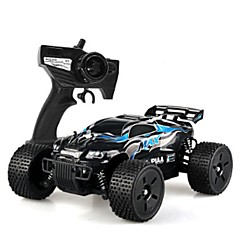 Coche de radiocontrol  HUANQI 543 2.4G Coche Monster Truck Bigfoot Off Road Car Alta Velocidad 4WD Drift Car Buggy Todoterreno 1:12 Brush