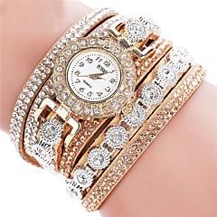 preiswerte Tolle Angebote auf Uhren-Damen Chinesisch PU Band Schwarz / Weiß / Blau / Edelstahl