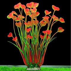 hesapli -Akvaryum Dekorasyonu Su Bitkisi Modellendirme Plastikler Porselen Kaplama