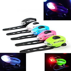 cheap -Bike Lights Safety Lights Rear Bike Light Bike Glow Lights LED - Cycling Warning Easy Carrying CR2032 50-70lm Lumens Battery Cycling /