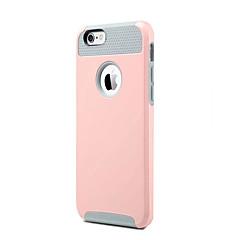 Кейс для Назначение Apple iPhone X iPhone 8 Защита от удара Задняя крышка Сплошной цвет Твердый TPU для iPhone X iPhone 8 Plus iPhone 8